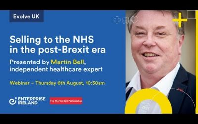 Selling to the NHS in the post-Brexit era